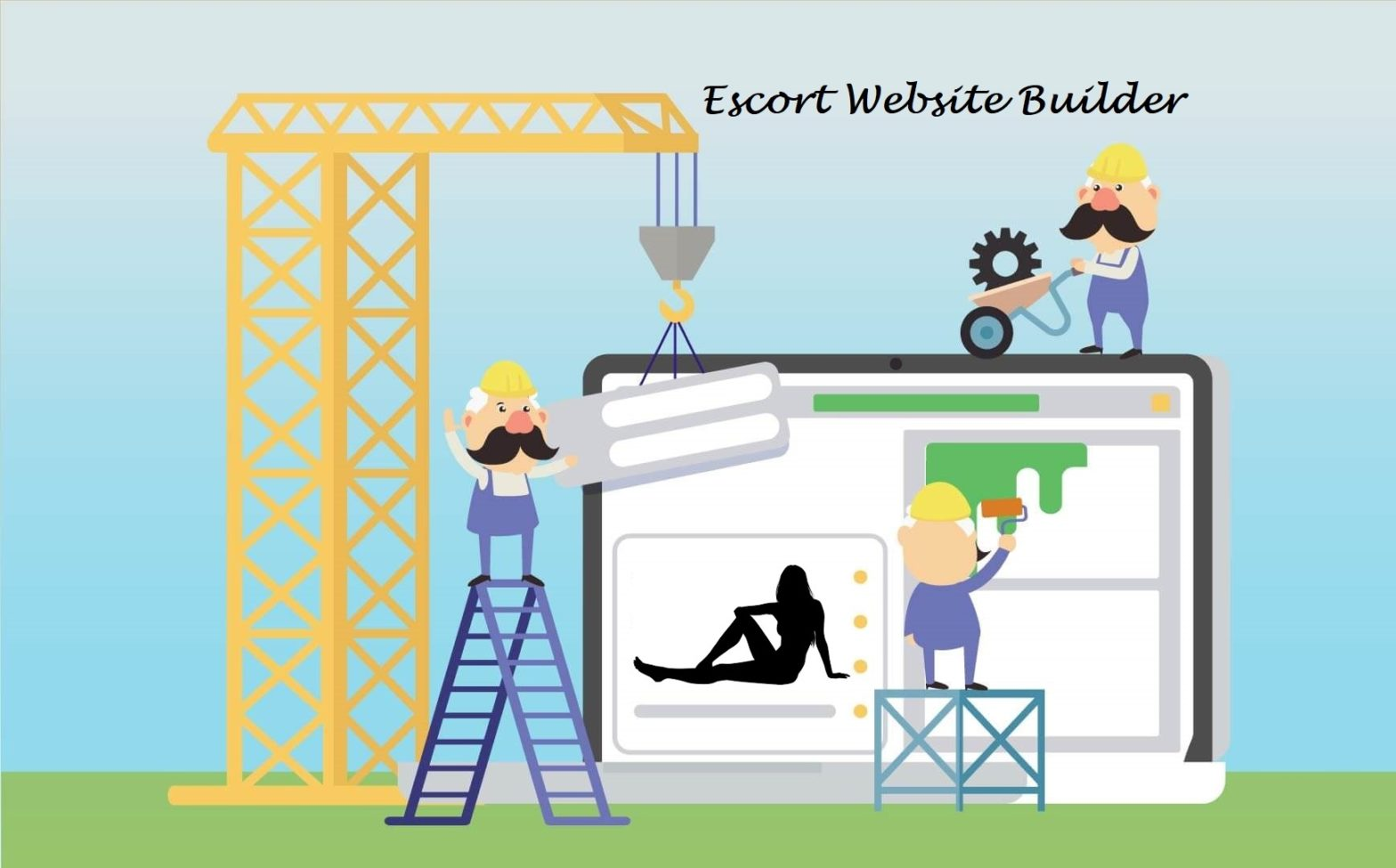 Escort website builder